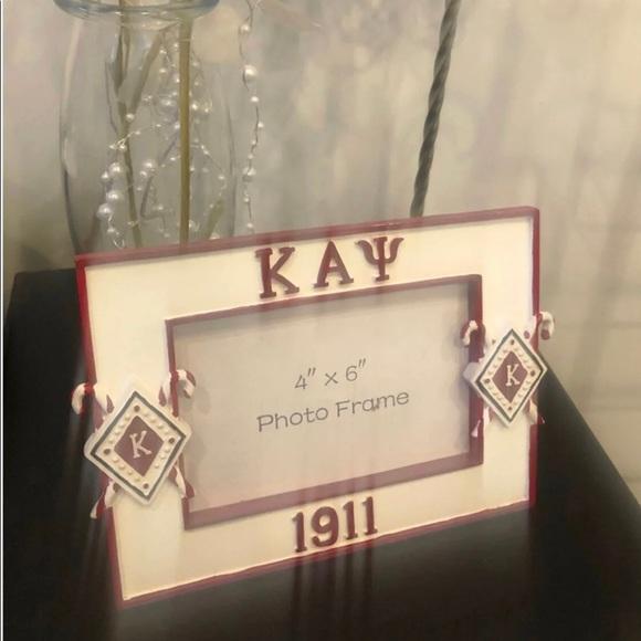 Kappa Alpha Psi 4x6 Picture Frame